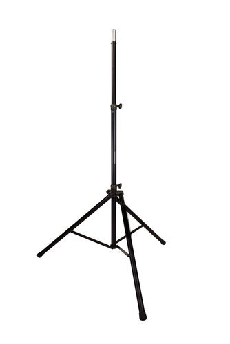 Ultimate Support TS88GB NoUSSLogo Extra Tall Tripod Speaker Stand with Integrated Speaker Adapter, Black TS88GB