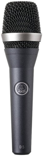 AKG D5 S Dynamic Vocal Microphone with On/Off Switch D5S