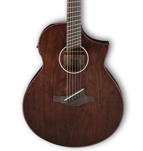 Ibanez AEW40FFCD Multi Scale Acoustic Electric Guitar - Natural High Gloss AEW40FFCDNT