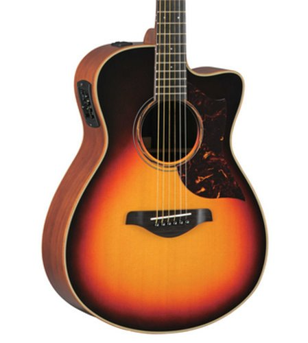 Yamaha AC3M-TBS Tobacco Brown Sunburst Small Body Acoustic Guitar with Hard Bag Included AC3M-TBS