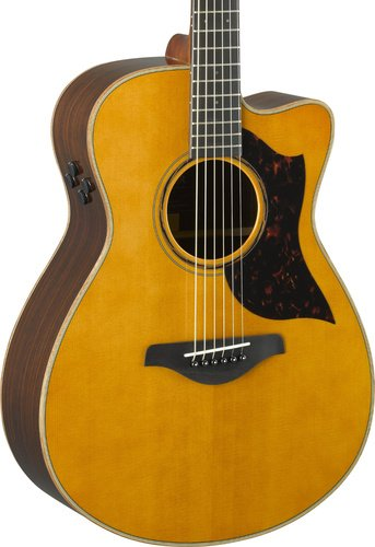 Yamaha AC3R-VN Small Body Vintage Natural Acoustic-Electric Guitar with Hard Bag Included AC3R-VN