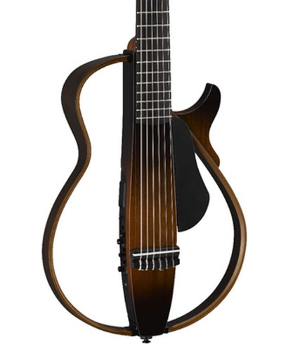Yamaha SLG200N Silent Series Guitar, Nylon Strings, Tobacco Sunburst Finish SLG200N-TBS