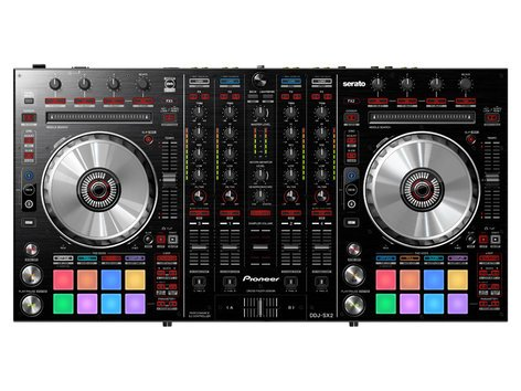 Pioneer DDJ-SX2 DJ Controller Bundle with HDJ2000 Headphones DDJ-SX2-PK1-K