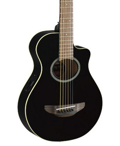 Yamaha APXT2-BL Black 3/4-Size Acoustic/Electric Travel Guitar with System 68 Pickup APXT2-BL