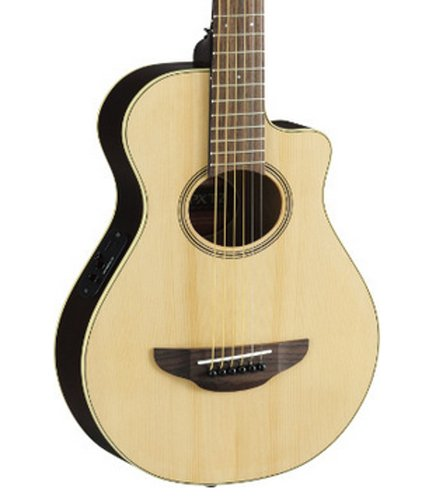 Yamaha APXT2-NA Natural Finish 3/4-Sized Acoustic/Electric Travel Guitar with System 68 Preamp APXT2-NA