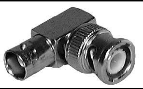 Philmore 953NPB BNC Male to BNC Female Right Angle Adapter (Bulk Packed) 953NPB