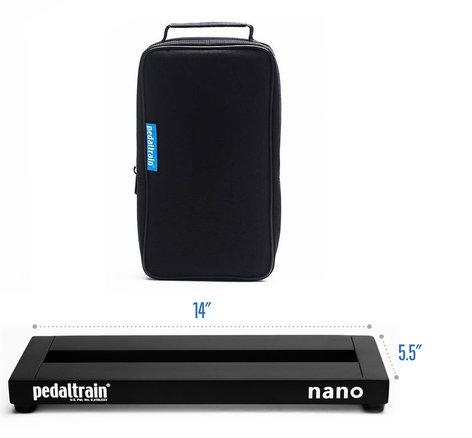 pedaltrain PT-NANO-SC Pedaltrain Nano Pedalboard with Gig Bag PTNANOSC