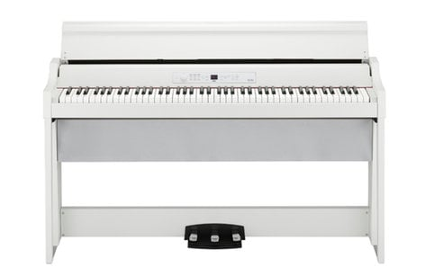 Korg G1 Air Digital Piano 88-Key Digital Home Piano With Bluetooth,  Built-in Speakers, RH3 Hammer Action Keyboard
