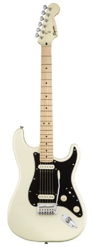 Squier STRAT-CONTEMP-HH Contemporary Stratocaster HH Electric Guitar With  Maple Fingerboard