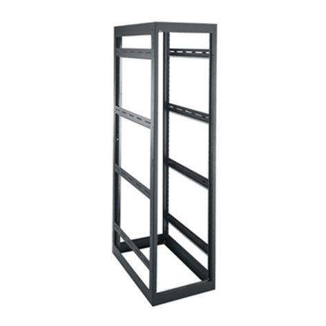 Middle Atlantic Products MRK-4436LRD 44-Space MRK Series Gangable Rack (without Rear Door) MRK-4436LRD