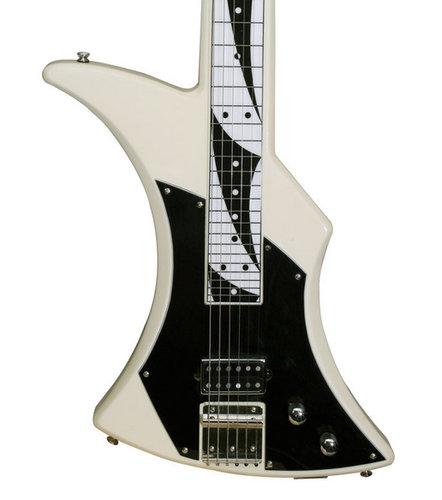 Peavey PowerSlide 6-String Electric Slide Guitar in Ivory POWERSLIDE-IVORY