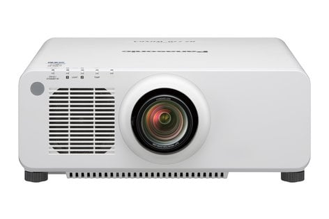 Panasonic PT-RZ770WU 7200 Lumen WUXGA Installation Laser Projector with Standard Zoom Lens in White PTRZ770WU