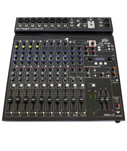 Peavey PV 14 BT 14 Channel Mixer with Bluetooth PV-14BT