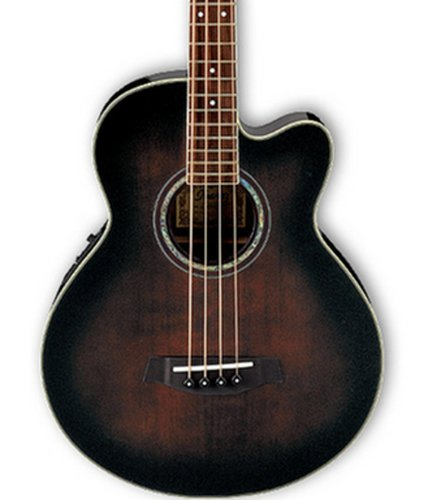 Ibanez AEB10EDVS Dark Violin Sunburst Acoustic/Electric Bass with Fishman Sonicore Pickup AEB10EDVS