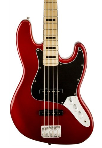 Squier SQUIER-JBASS-VM70CAR Vintage Modified Jazz Bass '70's Candy Apple Red Electric Bass SQUIER-JBASS-VM70CAR