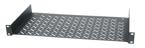 "Middle Atlantic Products UTR1 1RU 10"" Deep Universal Shelf for 1/2 Rack Equipment UTR-1"