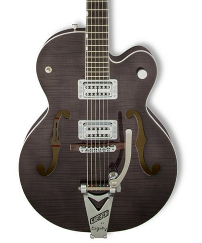 Gretsch Guitars G6120SH-TBLK [DISPLAY MODEL] Brian Setzer Hot Rod Hollow Body Electric Guitar, Tuxedo Black G6120SH-TBLK-DIS