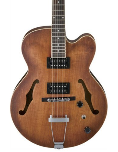 Ibanez AF55TF Artcore Full-Hollow Body Electric Guitar with HH Pickup Configuration, Tobacco Flat