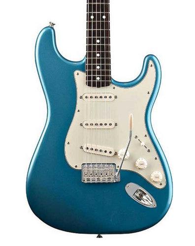 Fender Classic Series '60s Strat Lake Placid Blue '60s Stratocaster Guitar, Classic Series STRAT-60S-RW-LPB