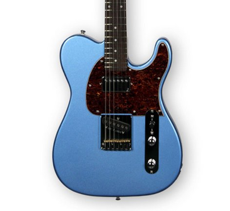 G&L Guitars ASAT Classic Bluesboy Lake Placid Blue Tribute Series Electric Guitar ASAT-BLUES-LPB