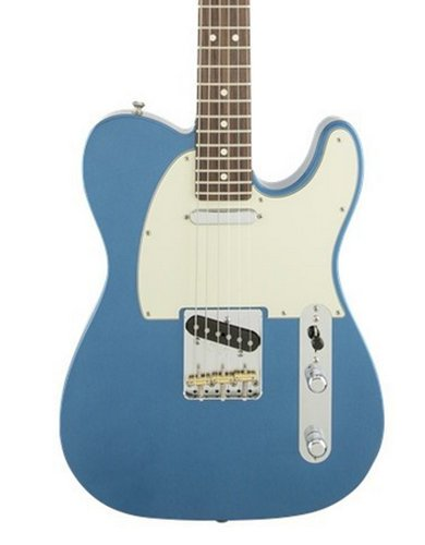 Fender TELE-AMSPC-RSW-DIS American Special Telecaster [DISPLAY MODEL] Electric Guitar with SS Pickup Configuration in Lake Placid Blue TELE-AMSPC-RSW-DIS
