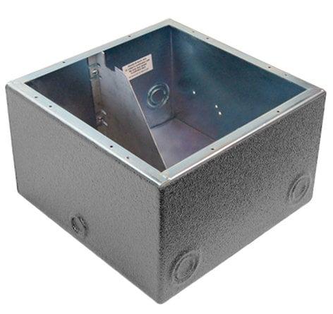 Ace Backstage ISO102BBXW Polyurethane Encapsulated Back Box, with AC Isolation Bracket ISO102BBXW