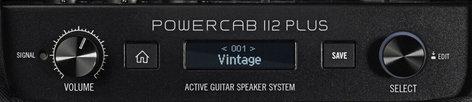 Line 6 Powercab 112 Plus 1x12 Active Guitar Speaker System for Modelers Plus Features POWERCAB-112-PLUS