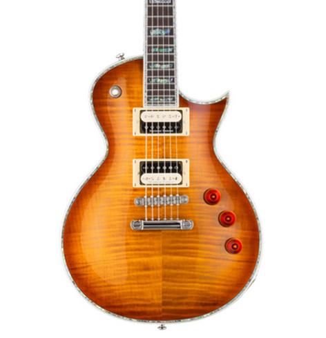 ESP LEC1000ASB LTD EC-1000 Electric Guitar, Amber Sunburst LEC1000ASB