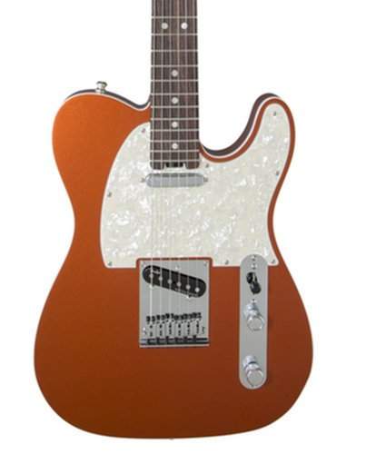 Fender American Elite Telecaster Single Cutaway SS Electric Guitar with Alder Body and Maple Fingerboard TELE-AMELITE-MPL
