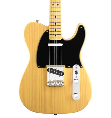Squier TELE-CLASSVIBE-50SBB Classic Vibe '50s Tele Classic Vibe Telecaster Guitar, Butterscotch Blonde TELE-CLASSVIBE-50SBB
