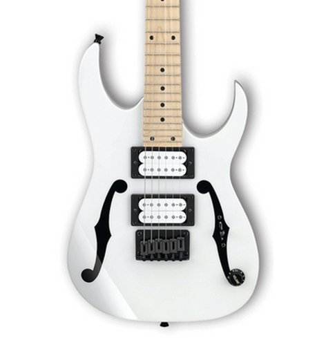 Ibanez PGMM31 Paul Gilbert Signature 6-String miKro Series Electric Guitar - White PGMM31WH