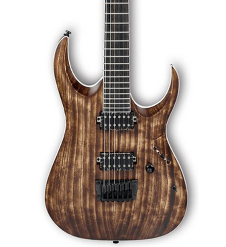 Ibanez RGAIX6U RGA Iron Label 6-String Electric Guitar - Antique Brown Stained RGAIX6UABS