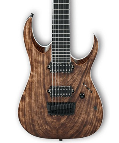 Ibanez RGAIX7U RGA Iron Label 7-String Electric Guitar - Antique Brown Stained RGAIX7UABS