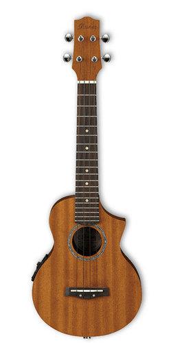 Ibanez UEW5E Open Pore Gloss UEW Series Cutaway Concert Acoustic/Electric Ukulele UEW5E