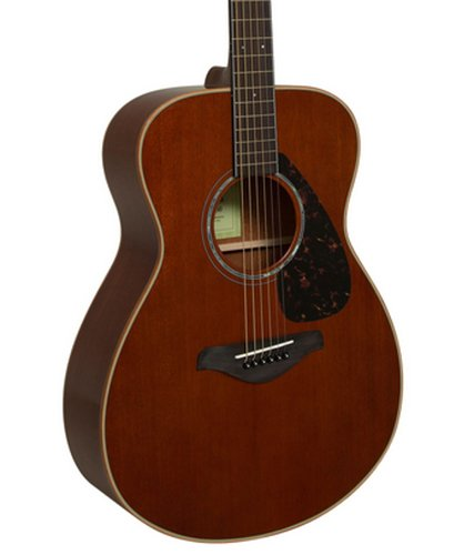 Yamaha FS850 Thin-Profile Acoustic Guitar with Mahogany Top, Back, and Sides FS850