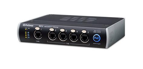 PreSonus SW5E 5-Port AVB Switch with PoE SW5E