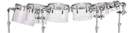 Pearl Drums CRB1208ST Crystal Beat Concert Tom with BT3 CRB1208ST