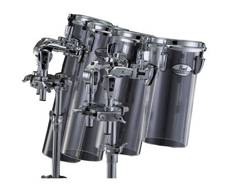 Pearl Drums CRB612CT  Crystal Beat Acrylic Rocket Tom with BT3 CRB612CT