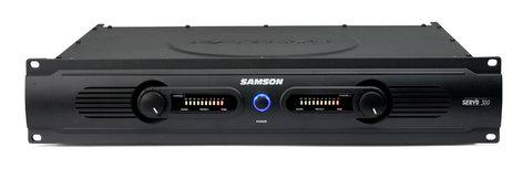 Samson Servo 300 Stereo Power Amplifier, 150 Watts Per Channel at 4 Ohms SERVO300