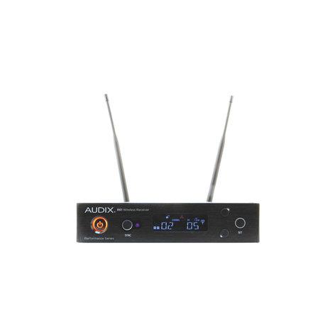 Audix AP61OM2L10 Receiver with HH Mic / Transmitter + Lavalier Mic & Bodypack AP61OM2L10