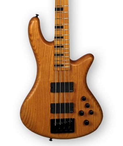 Schecter Guitars Stiletto-4 Session Aged Natural Satin Electric Bass STILETTO-SESSION-4