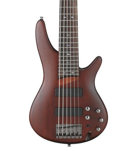 Ibanez SR506BM Brown Mahogany SR Series 6-String Electric Bass SR506BM