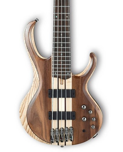 Ibanez BTB745NTL 5-String Electric Bass with Rosewood Fretboard, Natural Low Gloss Finish BTB745NTL
