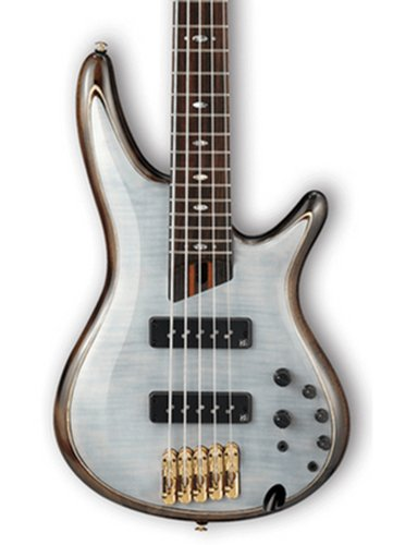 Ibanez SR1405E Glacial White SR Premium 5 String Electric Bass SR1405EGWH