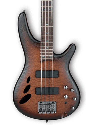 Ibanez SR30TH4 SR Standard 4 String Electric Bass - Natural Browned Burst Flat SR30TH4NNF