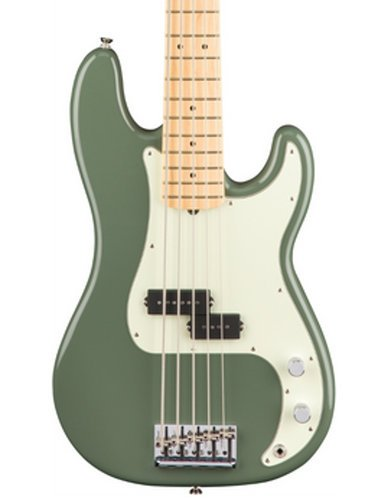 Fender American Pro Precision Bass V 5-String Electric Bass Maple Fingerboard PBASS-AMPRO-5-MN