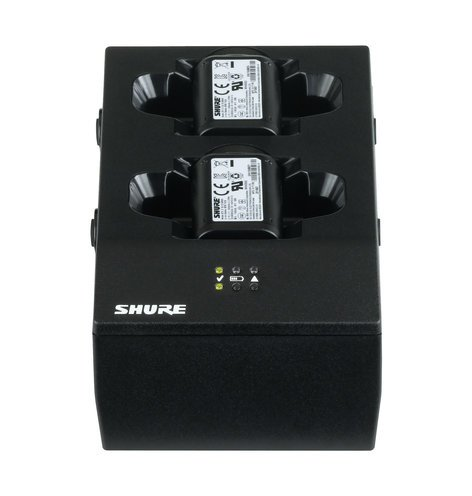 Shure SBC200-US Dual Docking Charger with PS SBC200-US