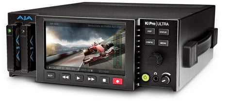 AJA KI-PRO-ULTRA-RST-01 Player Monitor [RESTOCK ITEM] 4K/UltraHD and 2K/HD Recorder/Player with 4K 60p Support KI-PRO-ULTRA-RST-01