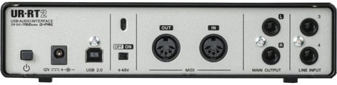 Steinberg UR-RT2  USB 2.0 Audio Interface with 2 Rupert Neve Transformers  UR-RT2