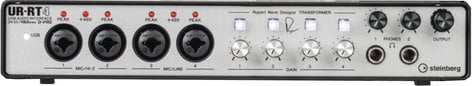 Steinberg UR-RT4  USB 2.0 Audio Interface with 4 Rupert Neve Transformers  UR-RT4
